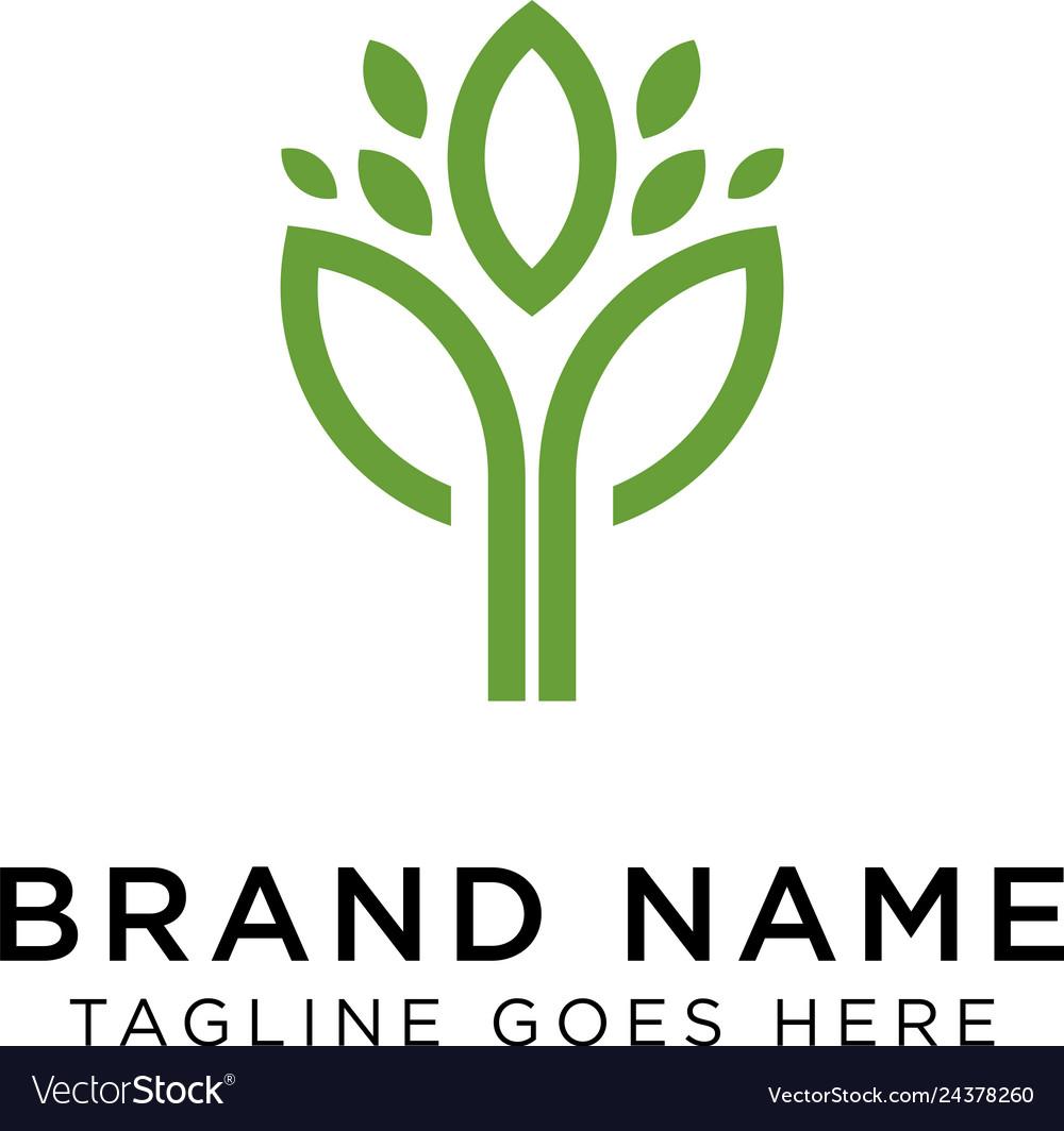 Plants logo design inspiration