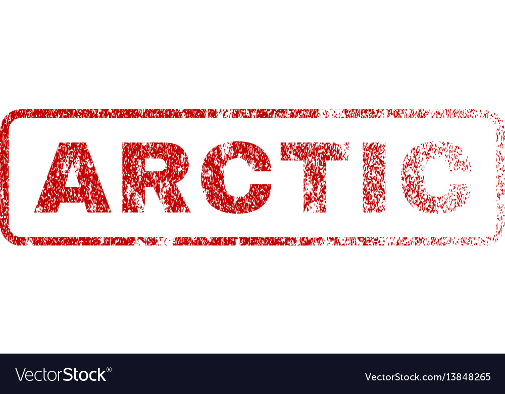 Arctic rubber stamp