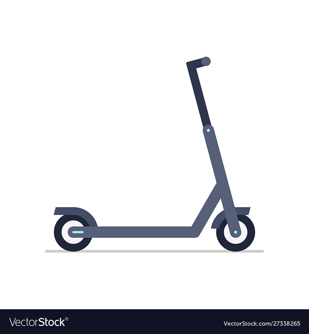 electric scooter royalty free vector image vectorstock vectorstock