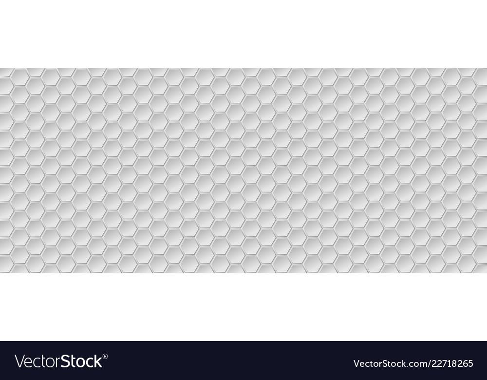 Honeycomb background of geometric hexagons