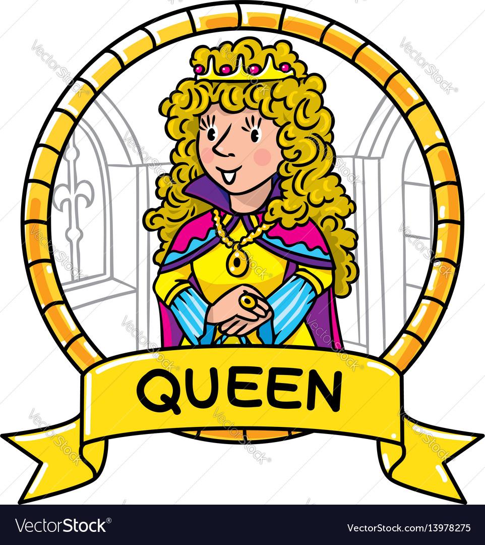 Emblem of queen or princess