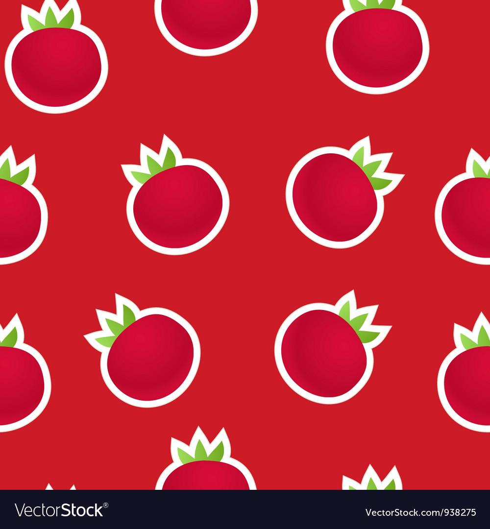 Seamless Tomato background