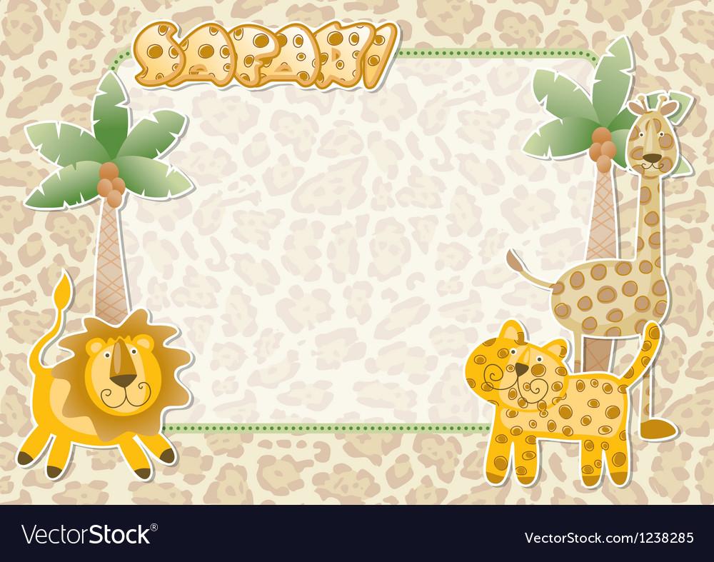 Cute Safari Wallpaper