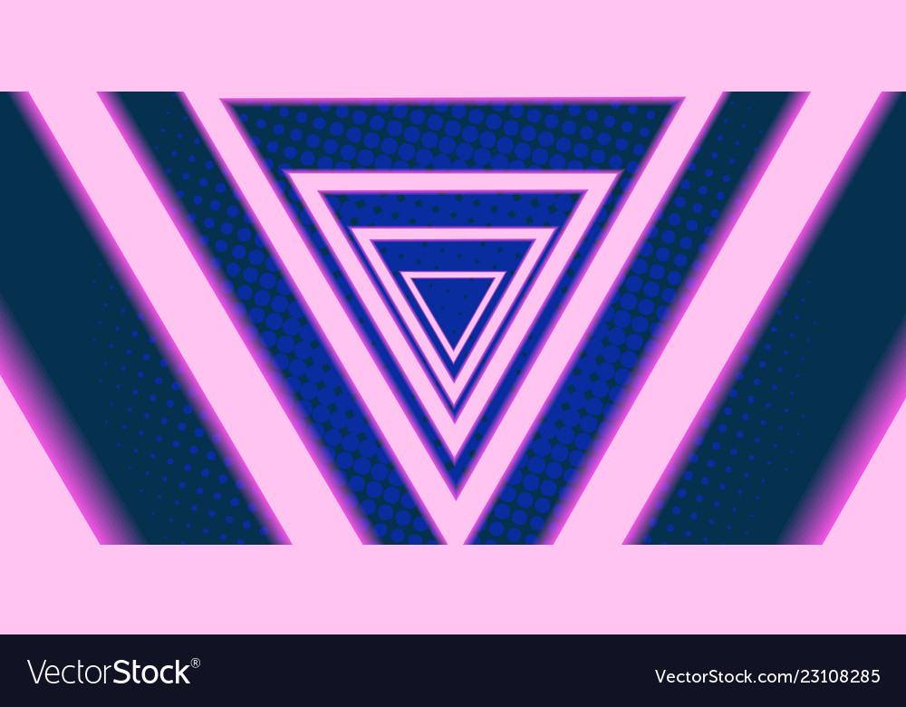 Triangle eighties background 80s 1980