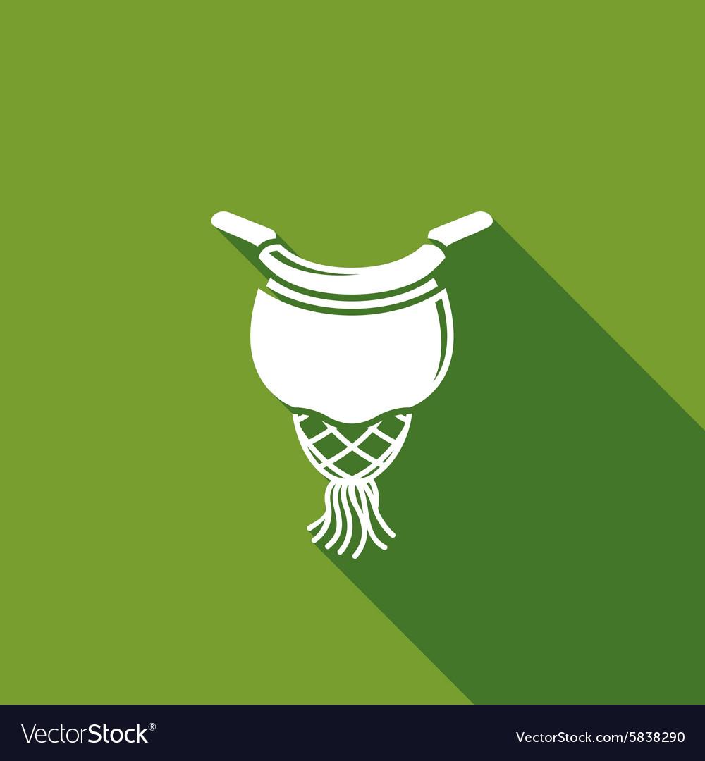Billiard pocket icon vector image