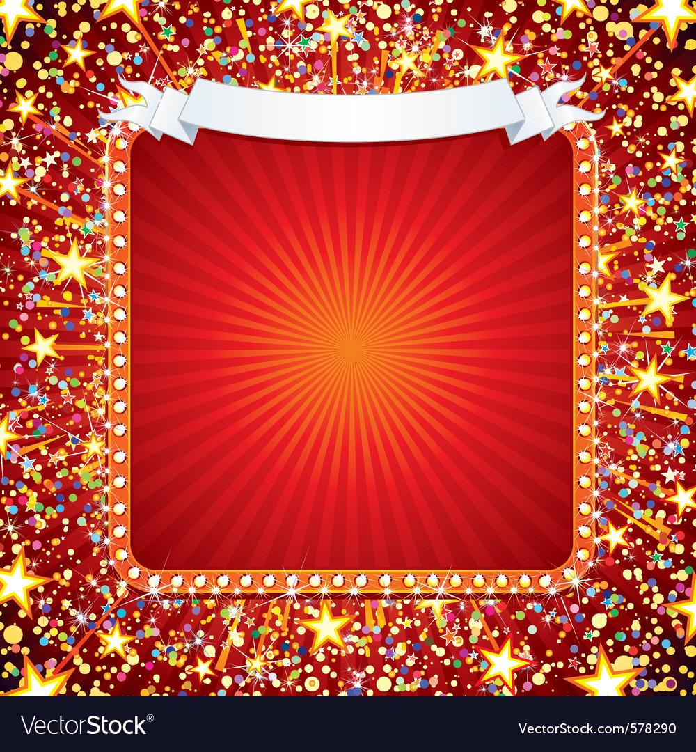 Bright celebration background