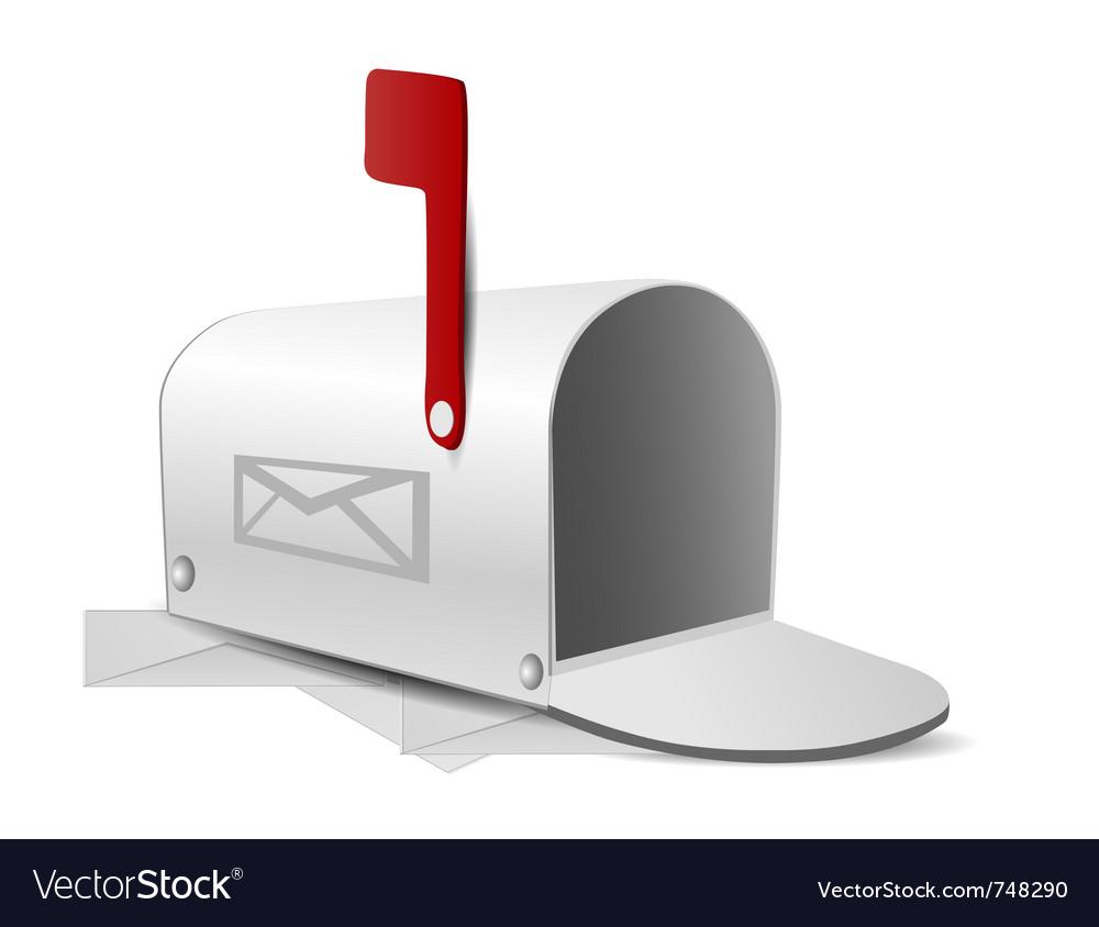 Mailbox vector image