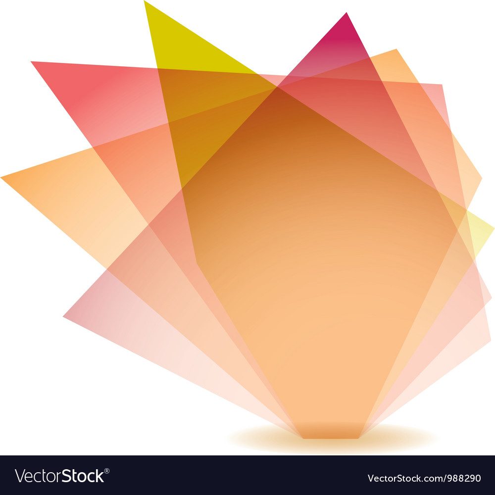 Pastel shard vector image