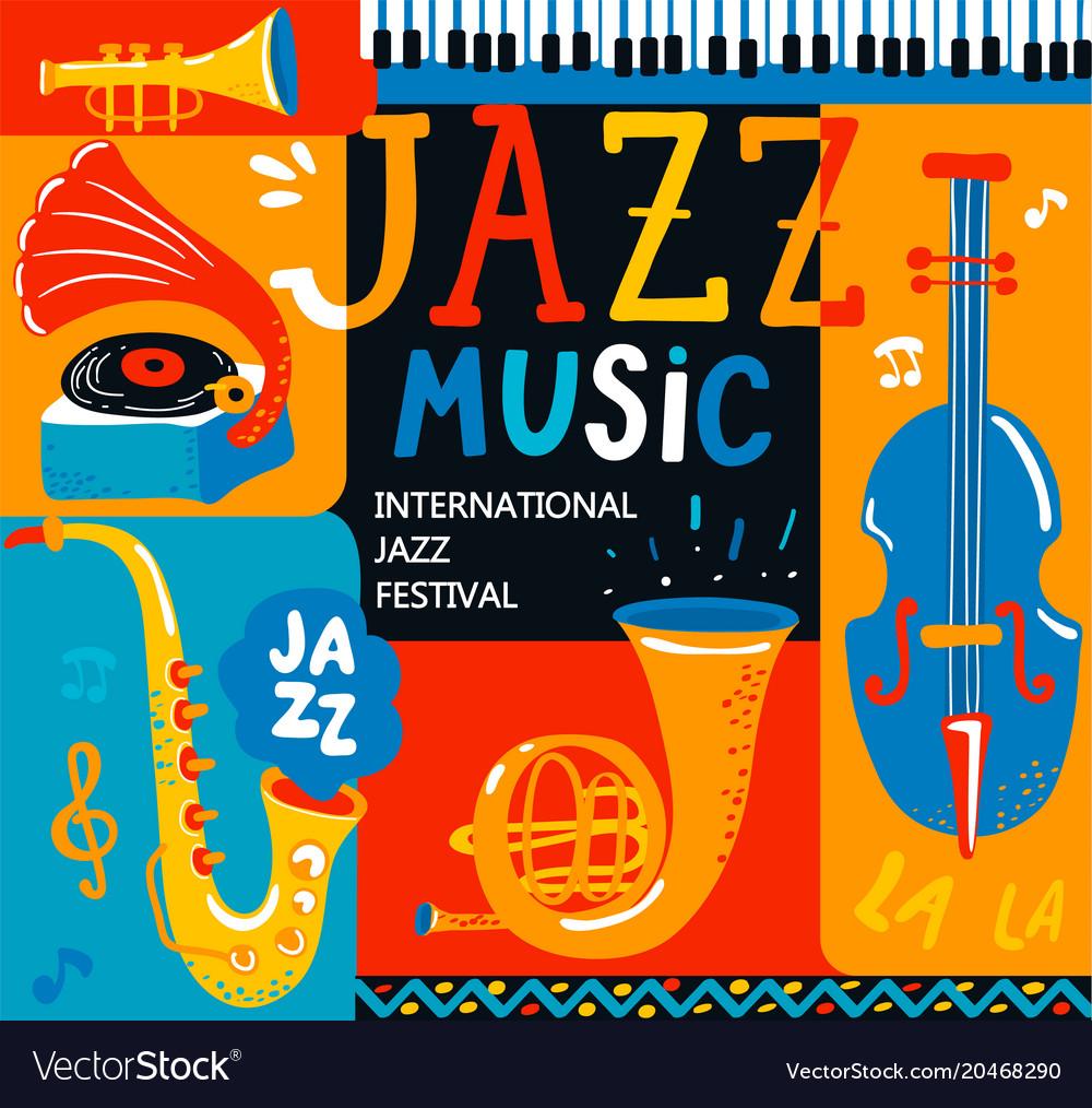 Poster for the jazz musical festival