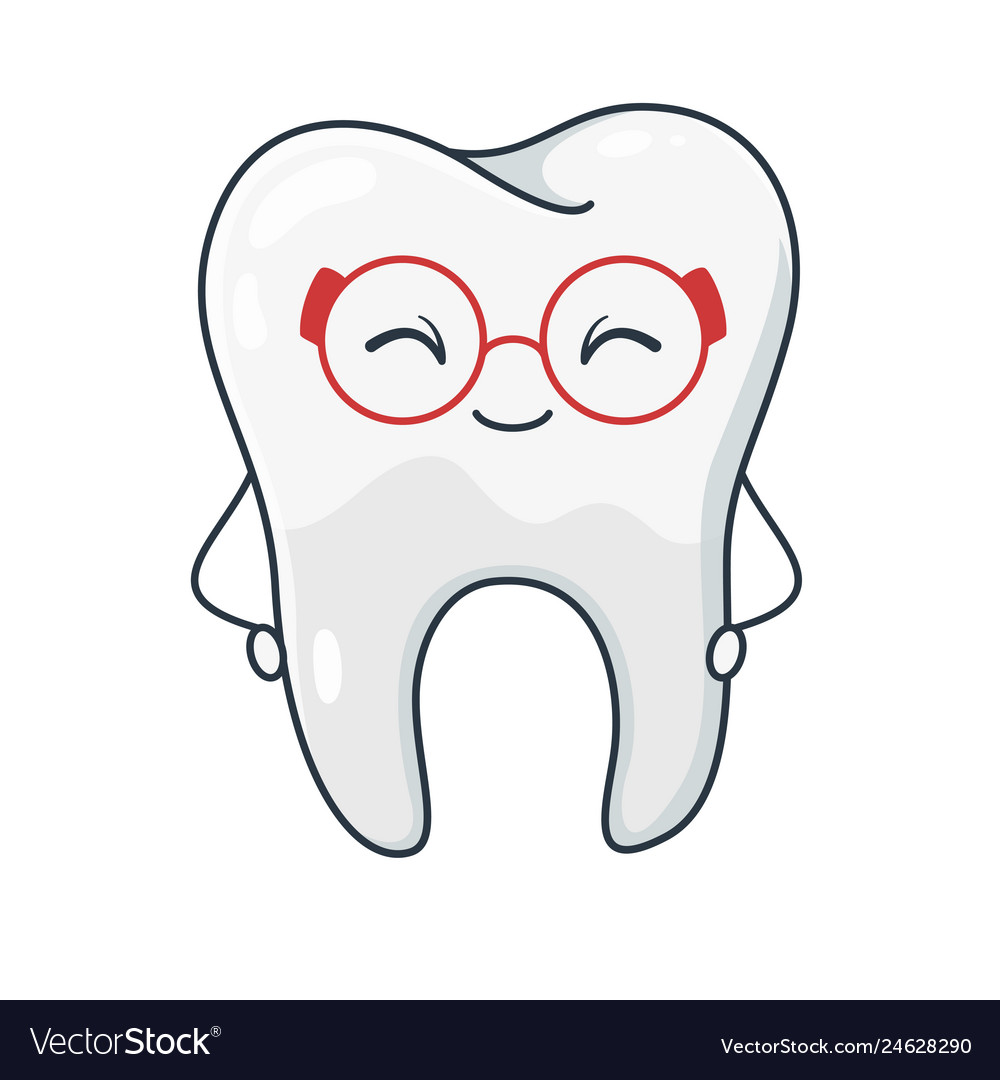 Tooth symbol dental hygiene and healthcare image