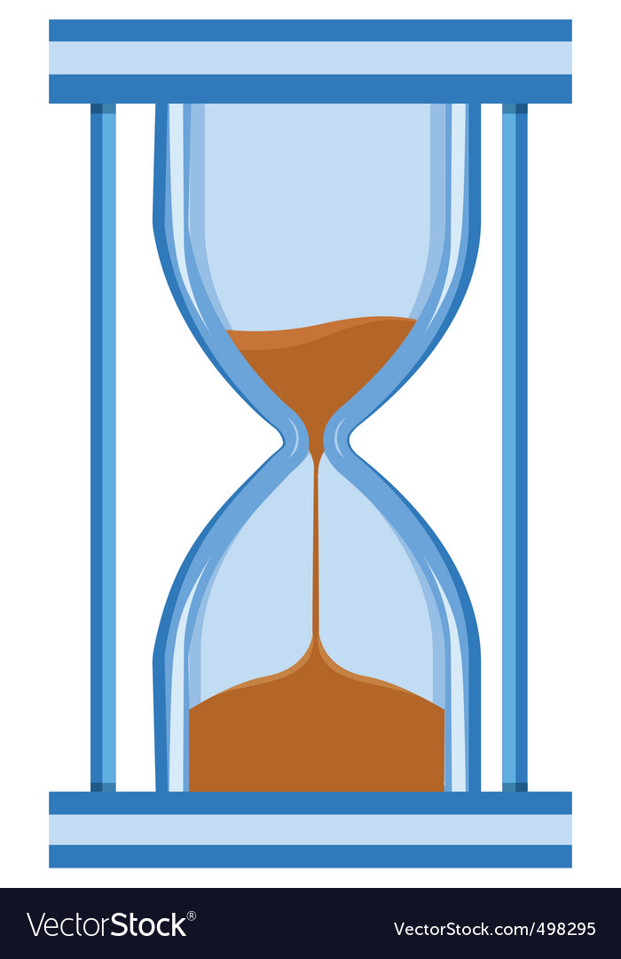 hour glass. Hour Glass Timer Vector