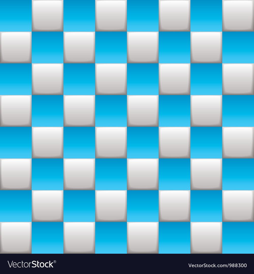 Checkered board blue