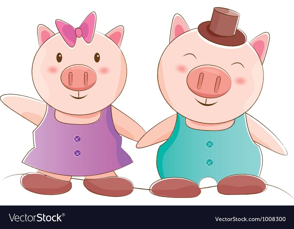 Pig Couple