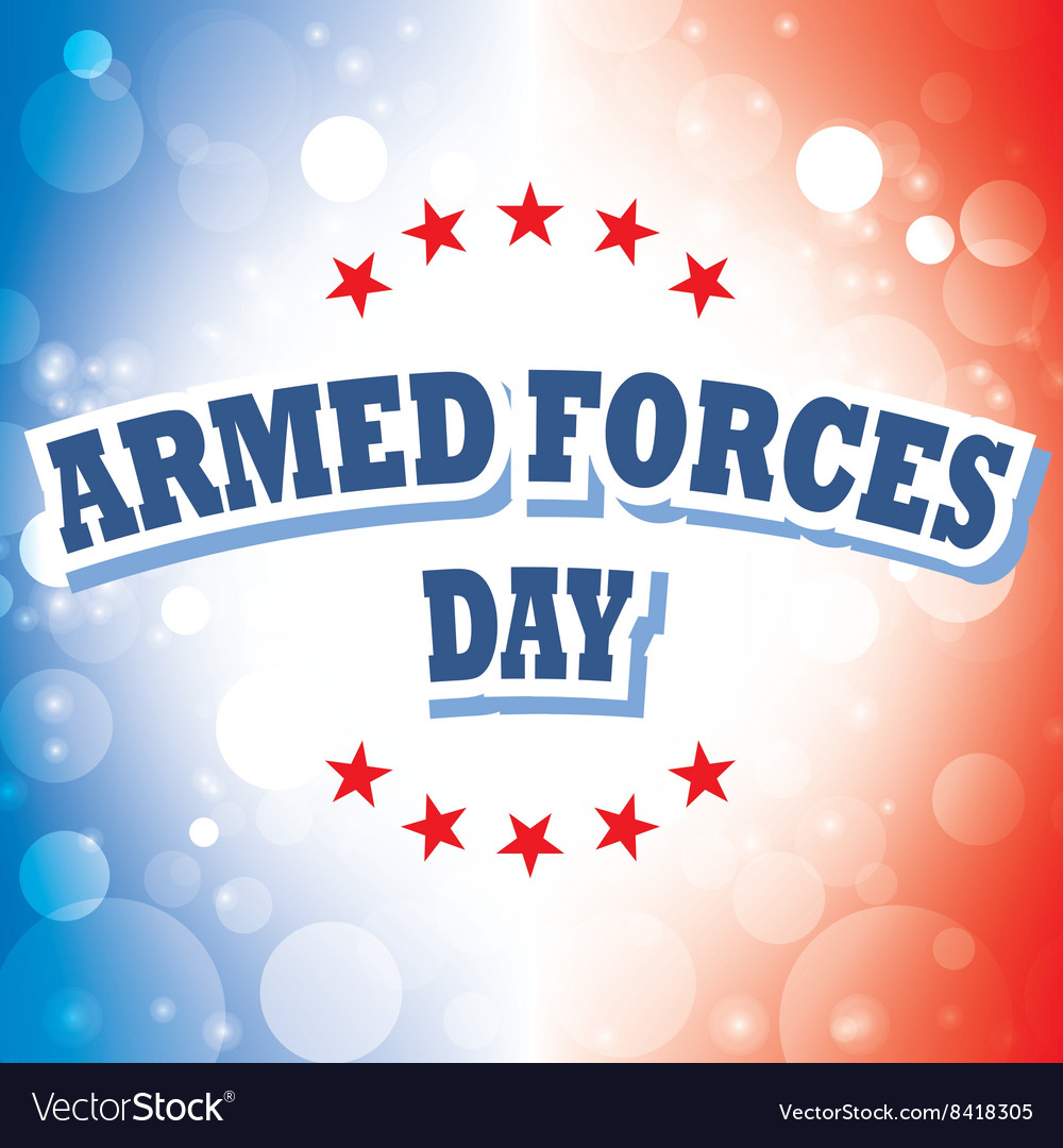Armed forces day america banner 2