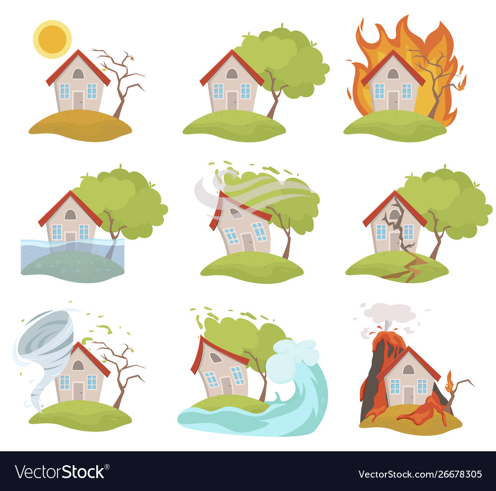 Insurance and risk for a house home safety