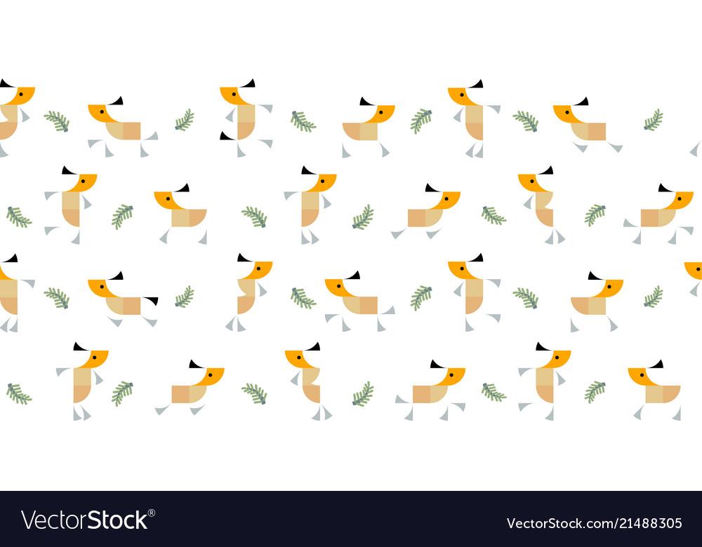 Roe deers pattern