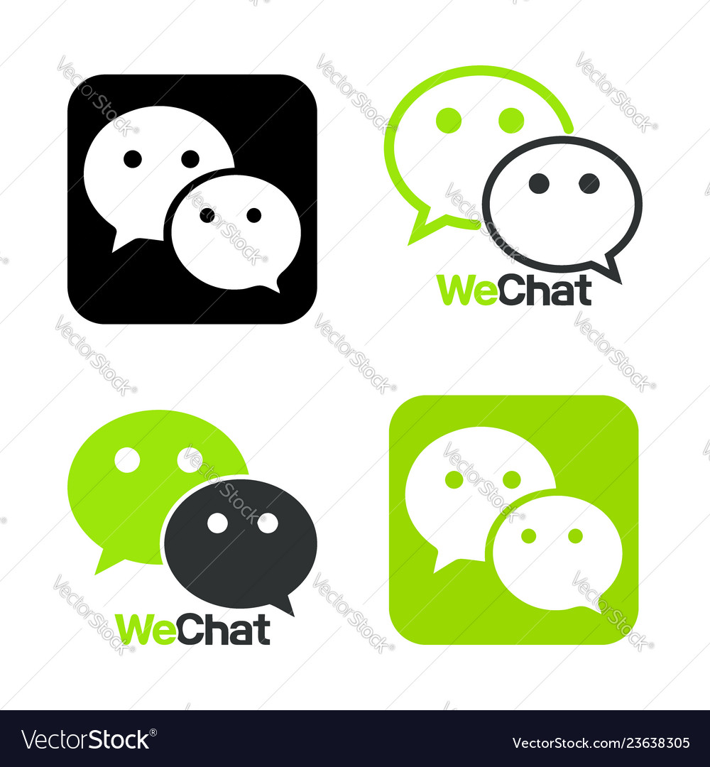 We chat symbol web icon comments color messenger