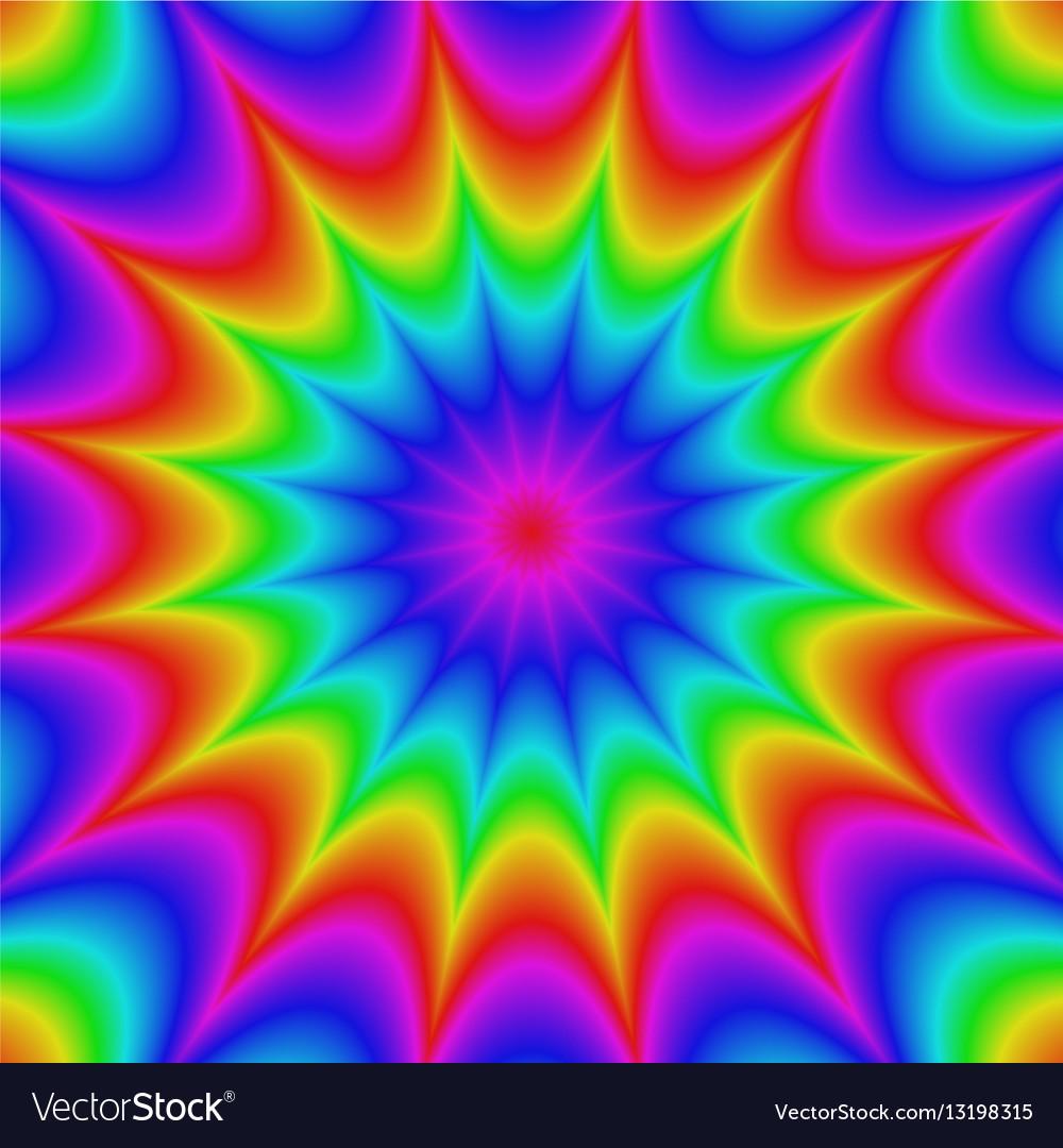 Abstract gradient star burst background design