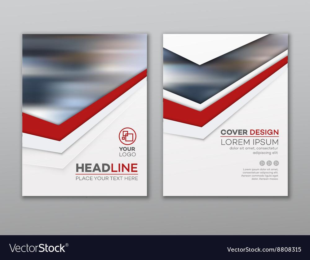 Brochure flyer design template Leaflet cover
