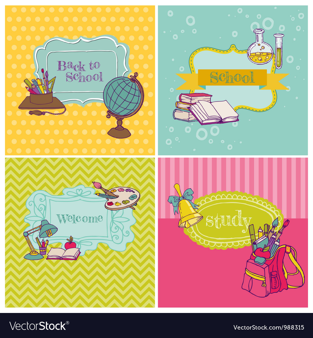 Card Collection - Back to School