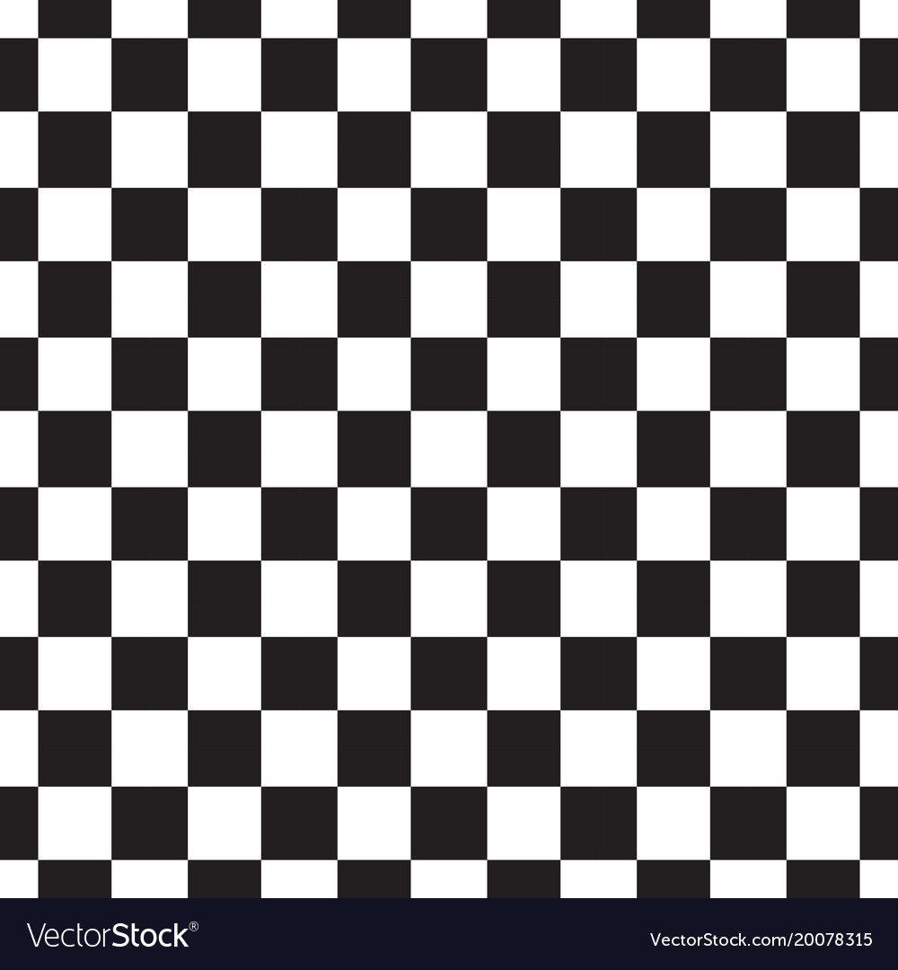 019eefc0263731 Checkerboard seamless pattern black and white Vector Image