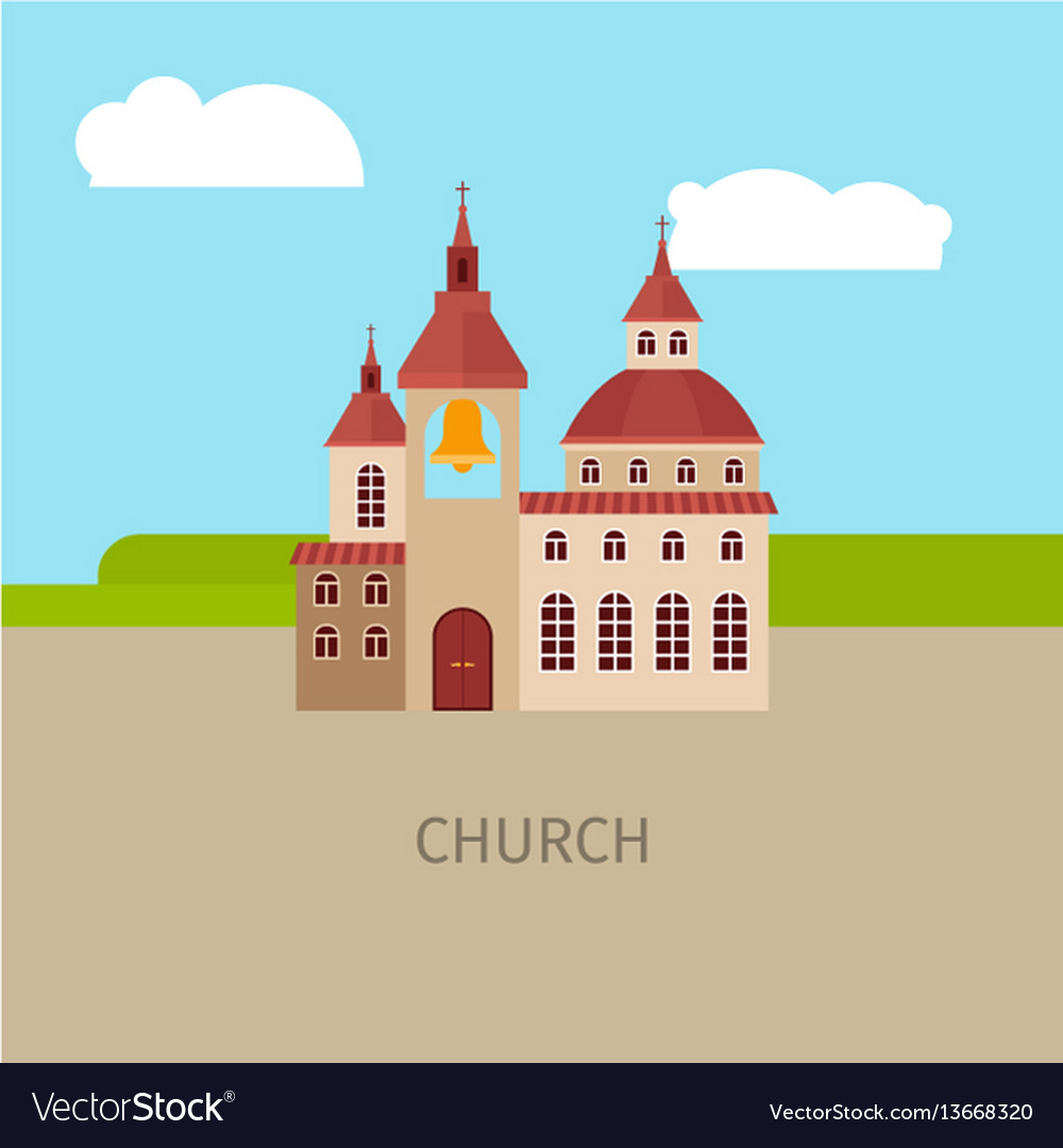 Colored church building