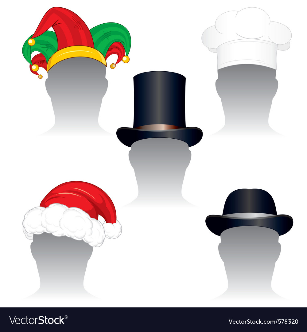 Various hats and caps