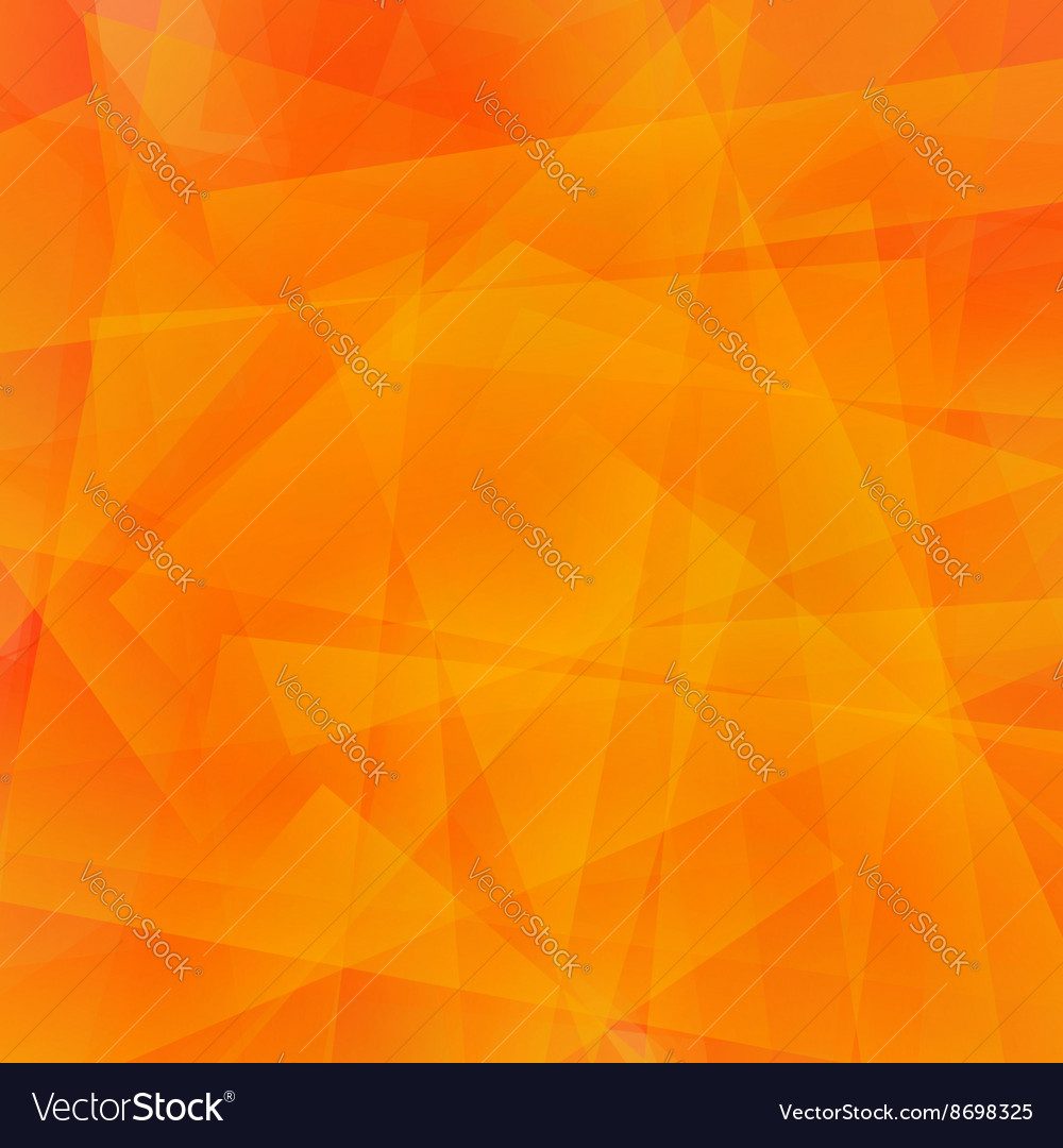 Abstract Orange Polygonal Background