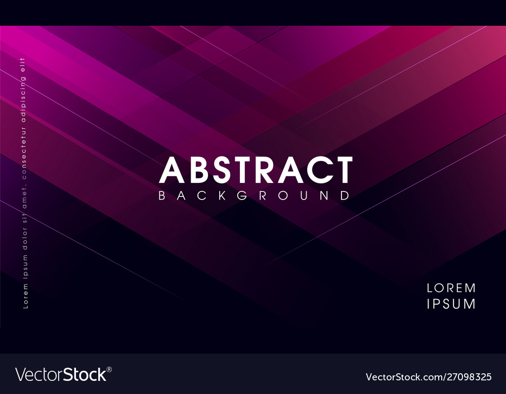 Creative abstract polygonal background