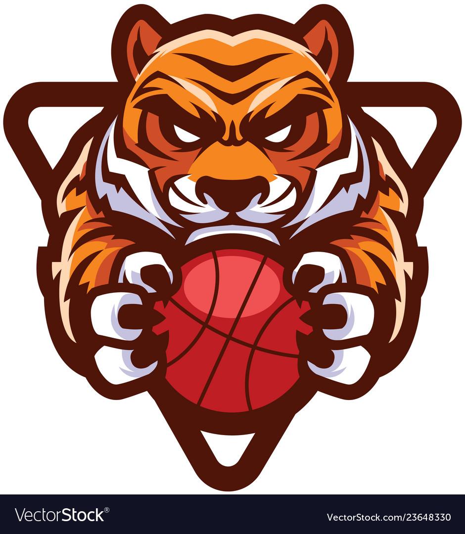 Tiger basketball mascot