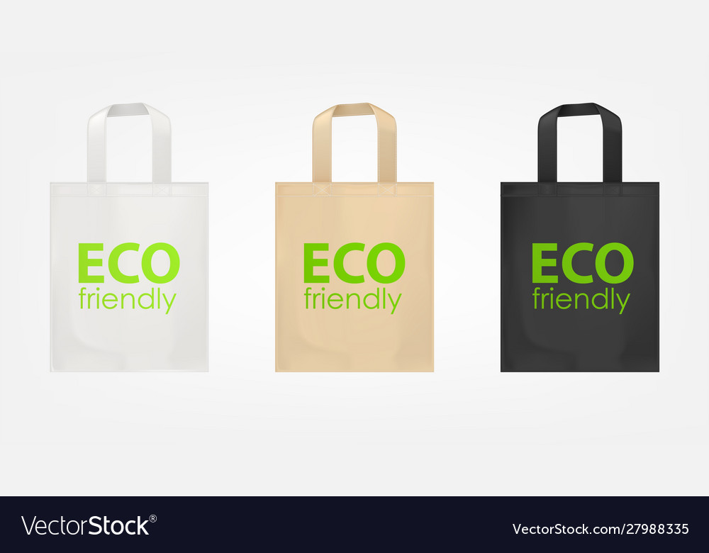 Tote shopping eco bags
