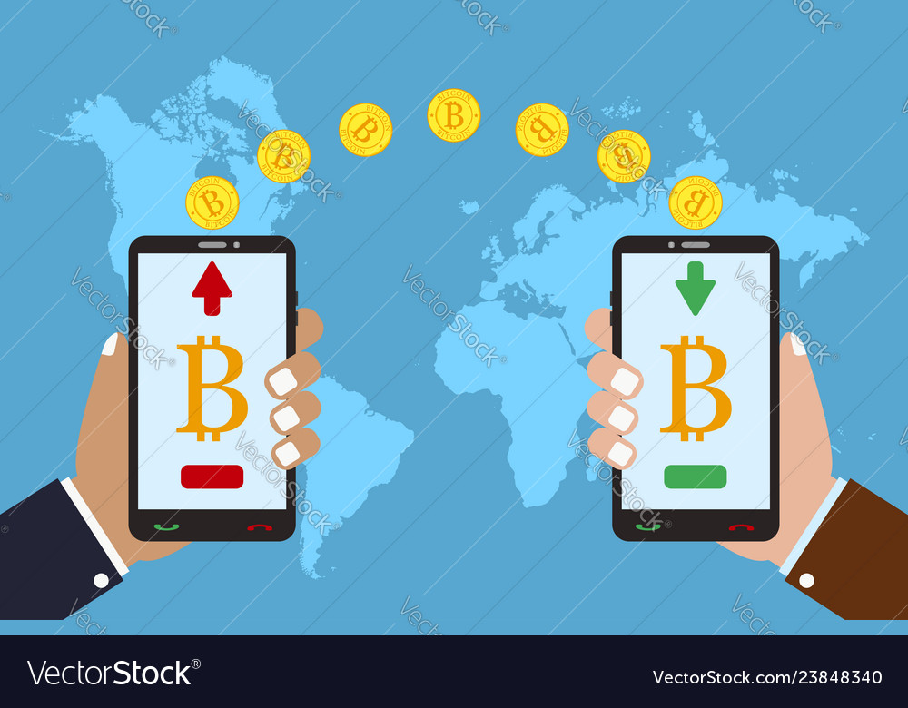 Cryptocurrency bitcoin - exchange and transfer