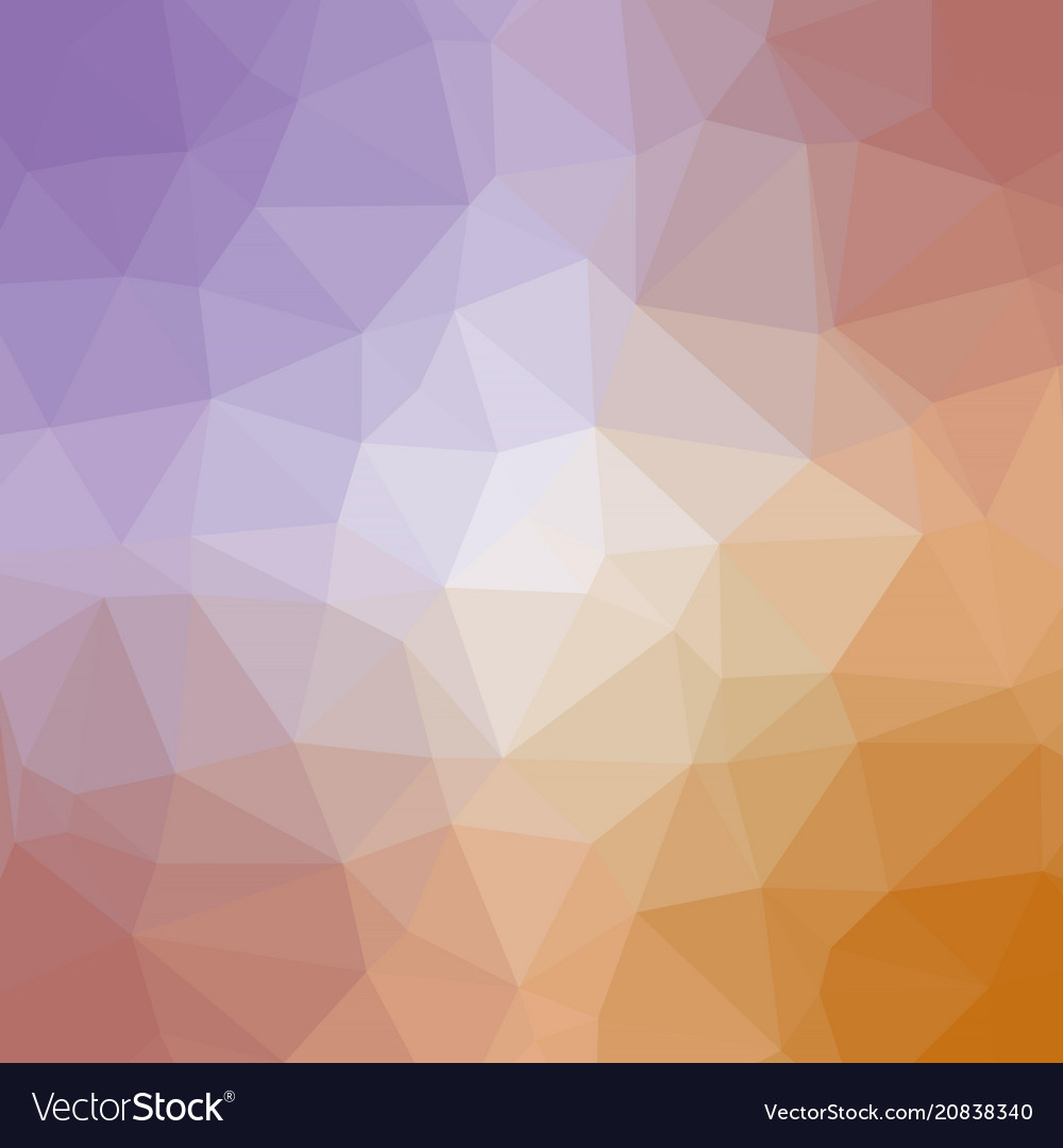 Quad color polygonal background in purple gold