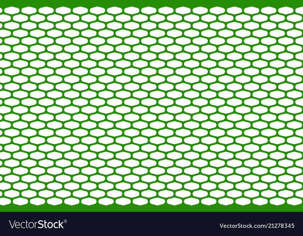 Abstract pattern green net on white