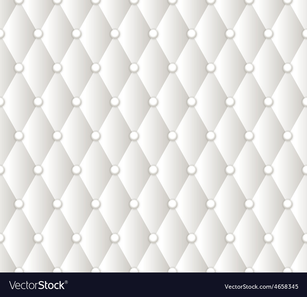 Abstract White Upholstery Background Royalty Free Vector
