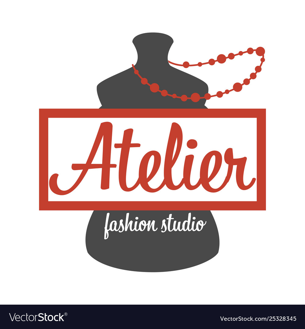 Atelier fashion studio mannequin and beads