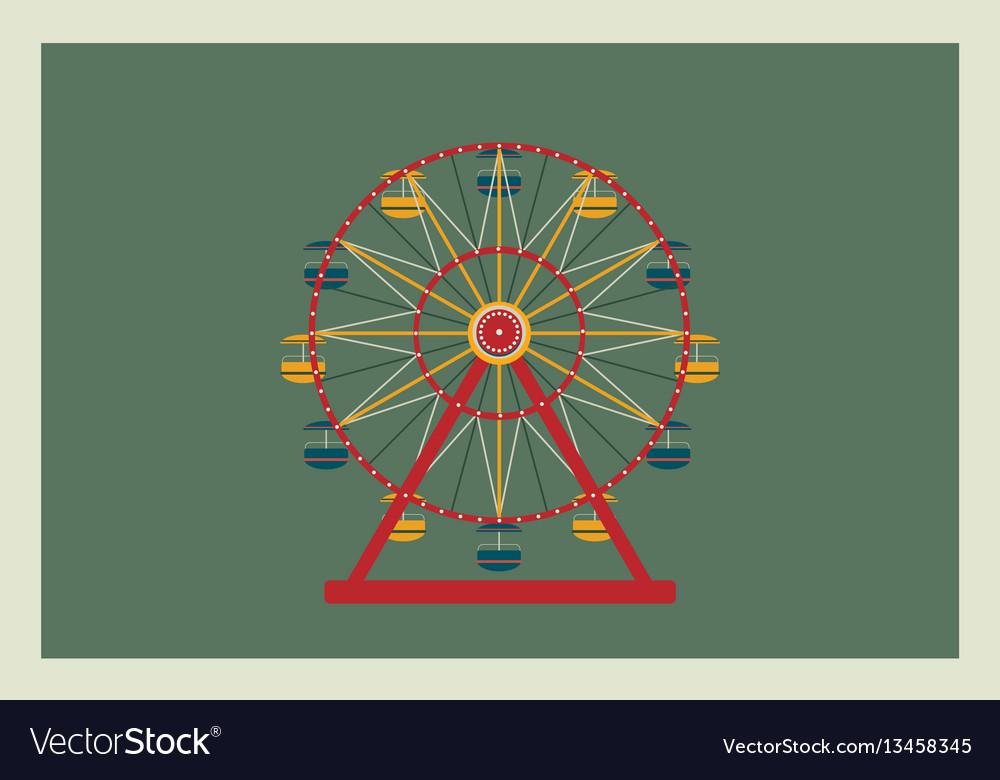 Ferris wheel element for your