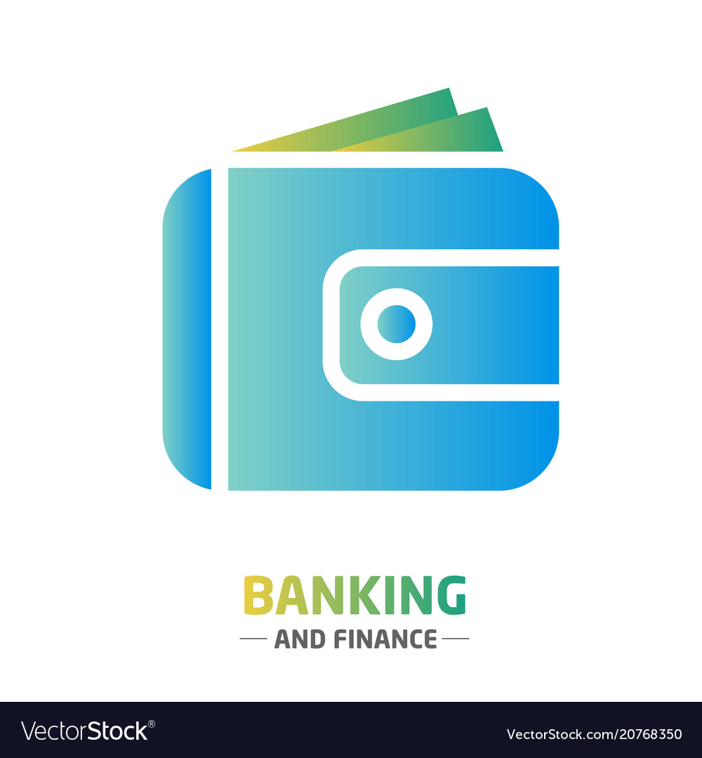 Shape design finance icon banking wallet