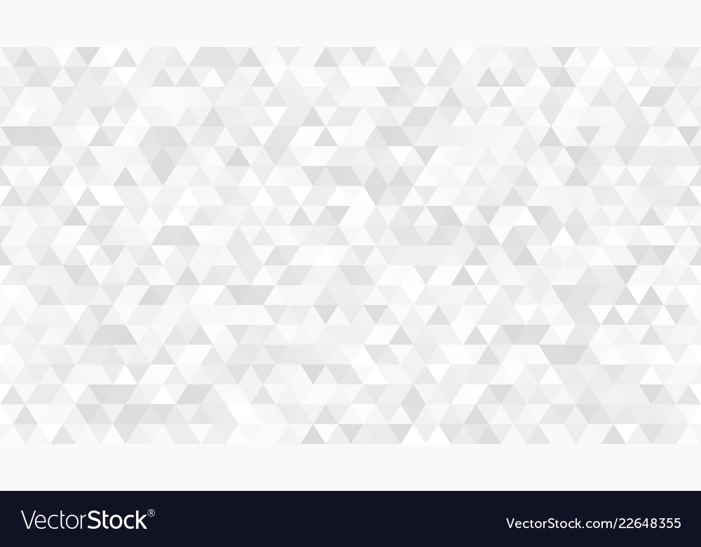 Abstract white triangular seamless light simple