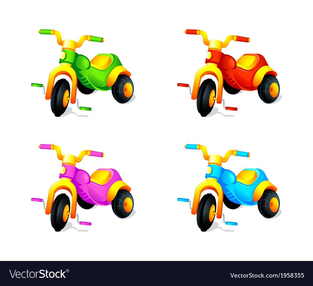 Child 3-wheel car