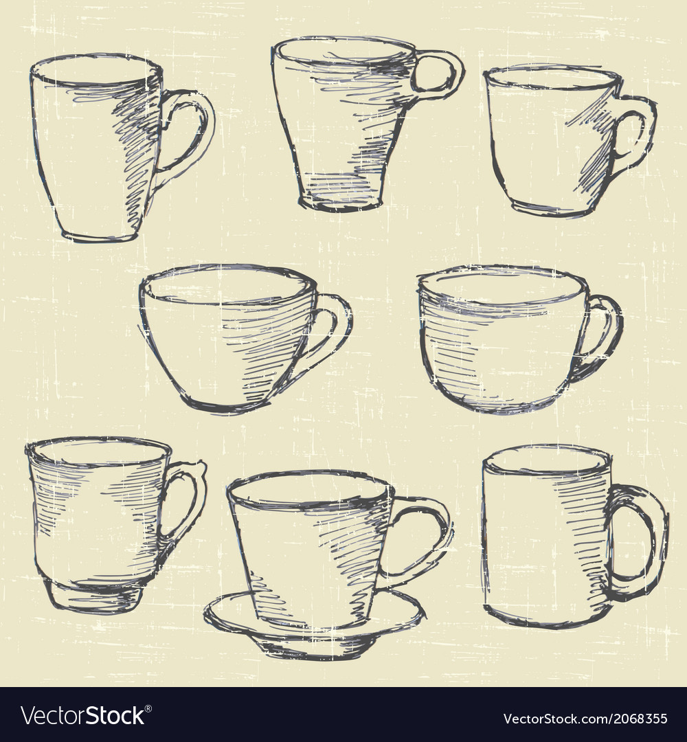 Drawn cups