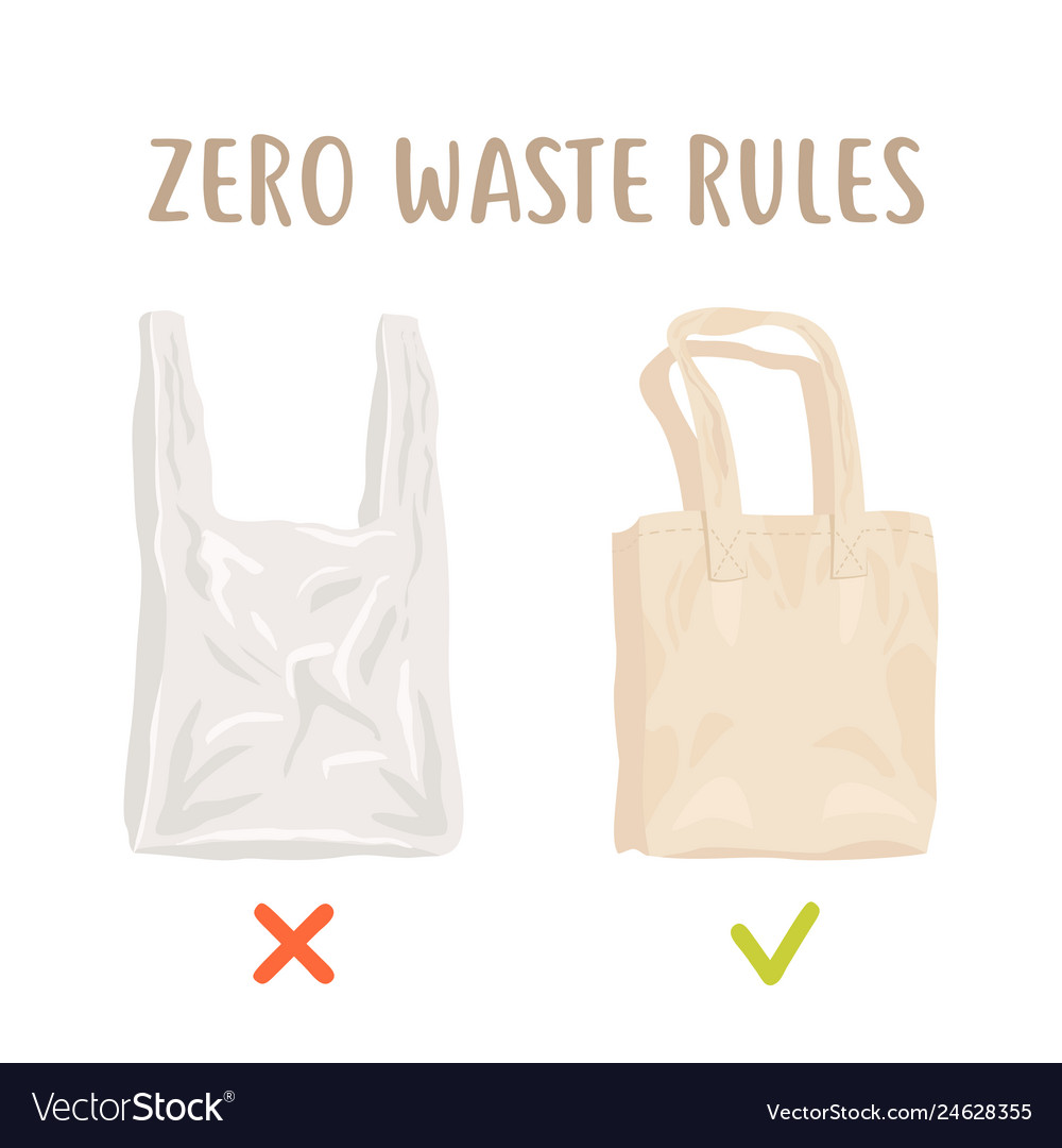 Zero waste rules disposable package vs reusable