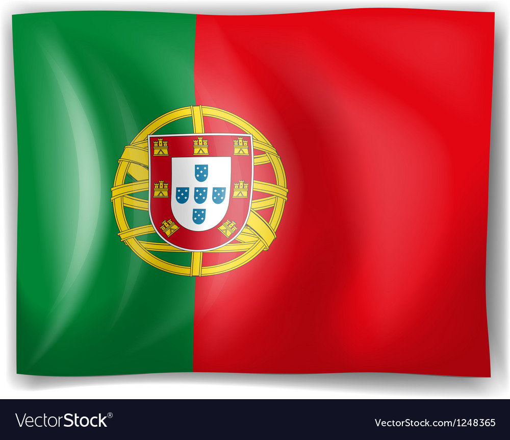 Flag of Portugal Royalty Free Vector Image - VectorStock