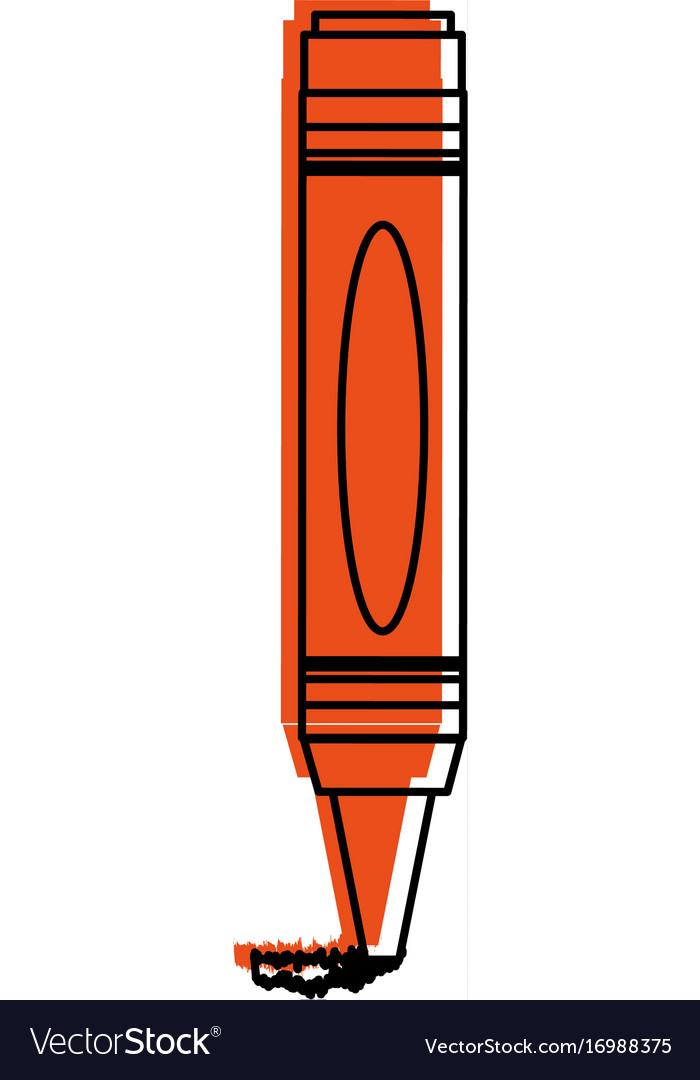 Crayon coloring icon image