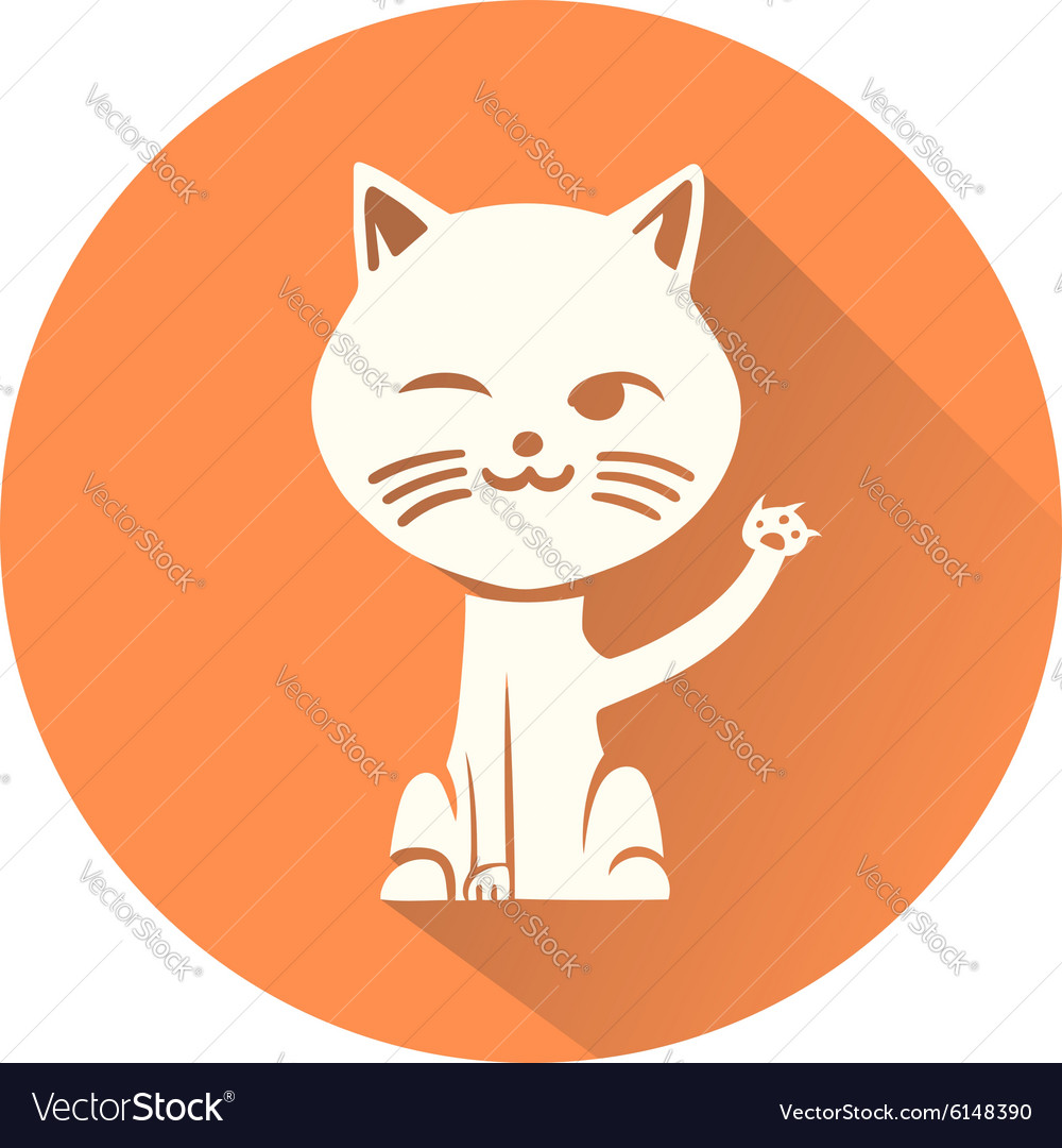 Cat Symbol Royalty Free Vector Image Vectorstock
