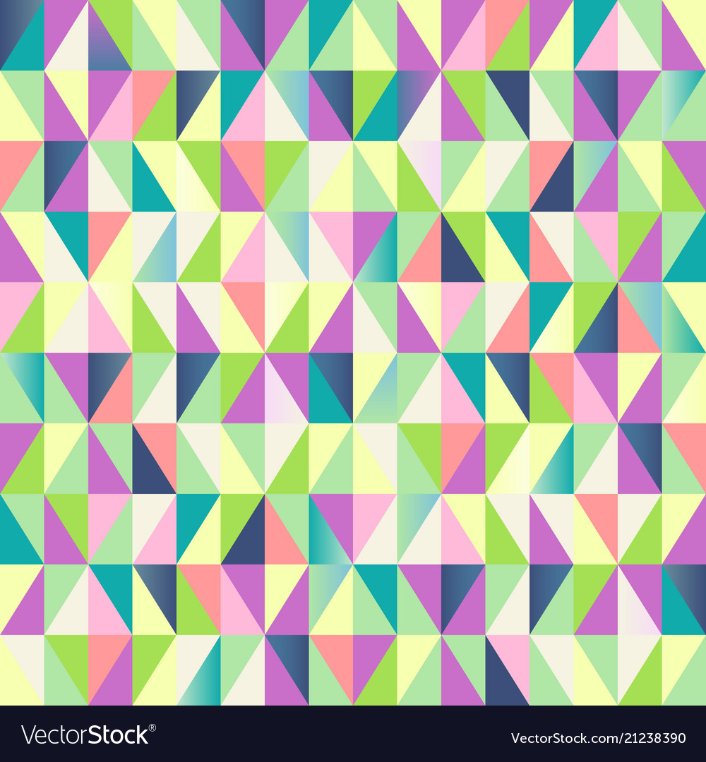 Geometric abstract seamless pattern colorful