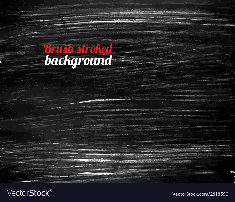 Painted black background