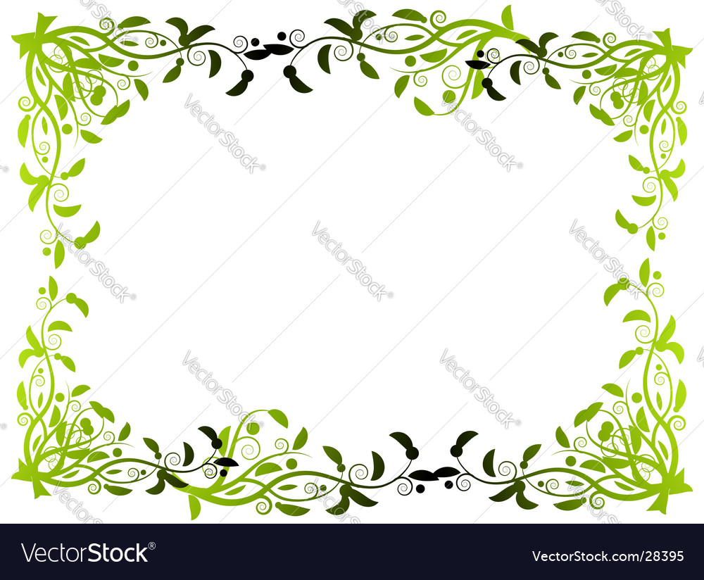 flower border royalty free vector image vectorstock rh vectorstock com floral border vector free flower border vector