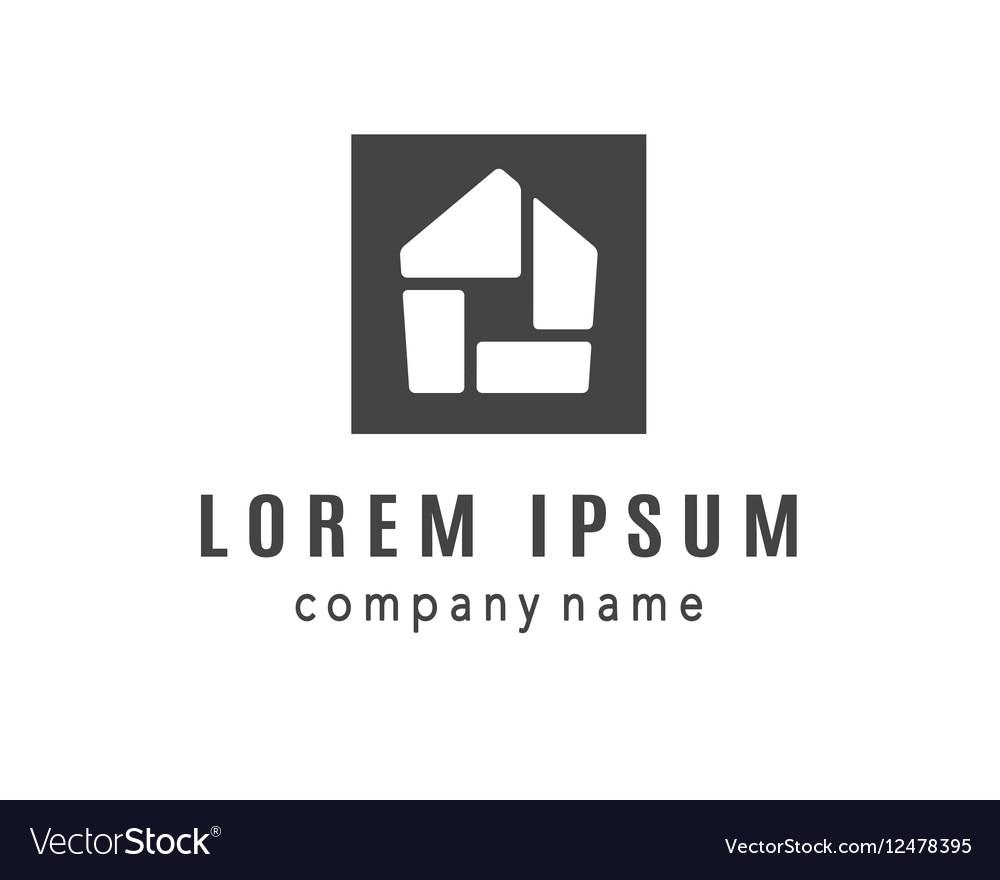 House creative logo design