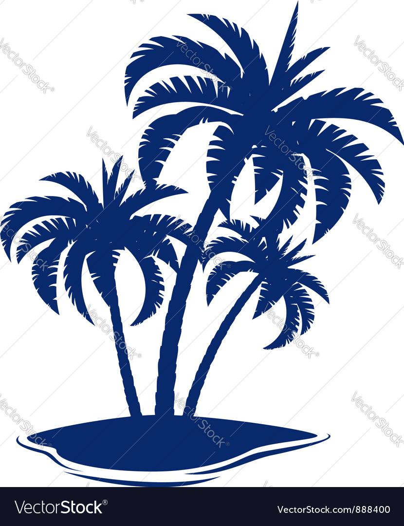 tropical island royalty free vector image vectorstock rh vectorstock com iceland victory iceland victory